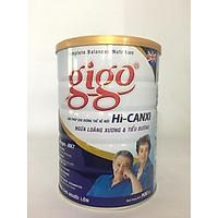 HI-CANXI hiệu GIGO Gold  900 gr : sữa bột dinh dưỡng ngừa loãng xương & tiểu đường cho người trưởng thành