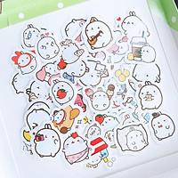Sét 3 bộ hinh dán , sticker cute( giao hình ngẫu nhiên)