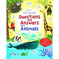 Sách tương tác tiếng Anh - Usborne Lift-the-flap Questions and Answers about Animals