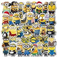 Sticker 50 miếng hình dán Minion