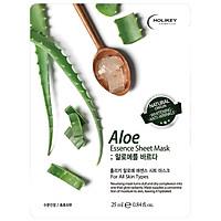 Mặt Nạ Tinh Chất Lô Hội Thiên Nhiên Cấp Ẩm Và Dưỡng Da Trắng Mịn Holikey Aloe Vera Essence Sheet Mask