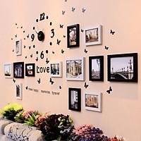 Bộ 13 Khung ảnh Composite Treo Tường Phòng Cưới Trẻ trung KA1304. Miễn phí phụ kiện.