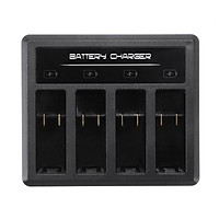 DC 5V 2A Battery 4-Slot Charger Professional Type C Battery Charging Stock Station 70x60x20mm For Gopro5.6.7.8