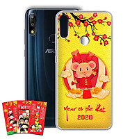 Ốp lưng dẻo cho điện thoại Zenfone Max Pro M2 - 01219 7956 HPNY2020 11 - Tặng bao lì xì Mừng Xuân Canh Tý - Hàng Chính Hãng