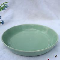 Đĩa Sứ Đựng Thức Ăn Màu Xanh  Ngọc - Gốm Sứ Nhật - Hàng Cao Cấp - Chống Nứt Tối Đa