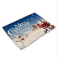 Tấm Lót Bàn Ăn Cao Cấp Ông Già Noel - TL70