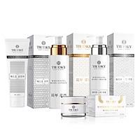 Bộ Truesky VIP 01 gồm 1 kem ủ trắng body 100ml 1 kem dưỡng trắng body 100ml 1 kem dưỡng trắng da mặt 10g & 1 sữa rửa mặt 60ml - Mỹ phẩm Truesky