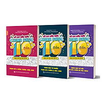Combo 3 cuốn Sổ tay kiến thức chinh phục điểm 10 dành cho học sinh lớp 12 - Trọn bộ 3 cuốn Toán, Văn, Anh - KHTN - KHXH