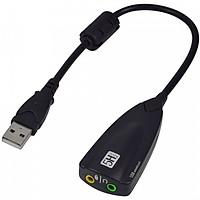 Cáp chia tín hiệu Micro và Loa âm thanh 3D cao cấp - Usb sound 7.1 AZONE