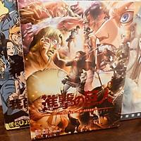 Album ảnh photobook attack on titan anime chibi quà tặng xinh xắn độc đáo