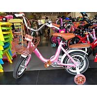 xe đạp trẻ em xe đạp cho bé gái cao cấp xamming 12 14 16 inch