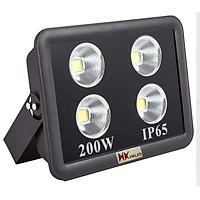 Đèn pha LED sân bóng ngoài trời HKLED tròn 200W - IP65