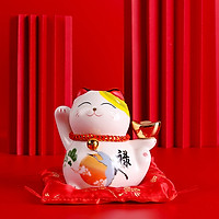Mèo thần tài Kim Phúc Lâm Môn - 11cm