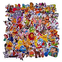 Set 100 Sticker - Cartoon