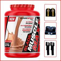 Sữa tăng cân tăng cơ Blade Muscle Maxx 5lbs (2270g) - Caramel Cappuccino - Hỗ trợ tăng cân, tăng sức mạnh, phát triển cơ bắp dành cho người tập thể hình và thể thao - Thương hiệu Châu Âu, nhập khẩu chính hãng