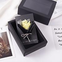 Hộp quà thiệp hoa khô B (mẫu ngẫu nhiên)