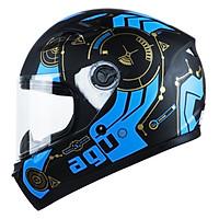 Mũ bảo hiểm AGU tem đồng hồ 43