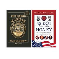 Combo Những Bí Mật Trong Lịch Sử Nước Mỹ: Gia tộc Morgan + 45 Đời Tổng Thống Hoa Kỳ