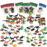 Đồ chơi mô hình thế giới động vật hoang dã Safari rừng rậm New4all cho bé khám phá & học tập thiên nhiên