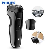 Máy cạo râu 3 lưỡi Philips tích hợp đèn led theo dõi cao cấp S1010