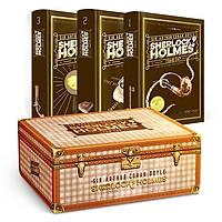 Sherlock Holmes Toàn Tập (3 Tập - Bìa Cứng - Hộp Ngang) - Tặng Kèm Sổ Tay