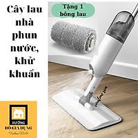 Cây Lau Nhà Phun Nước, Khử Khuẩn [Water Spray Mop] cao cấp, đầu xoay 360* [đa năng 2 TRONG 1] HÀNG LOẠI 1