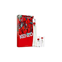 Nước Hoa Nữ Gift Set Kenzo Flower By Kenzo Edp 100Ml - Body Milk 50Ml - Edp 15Ml