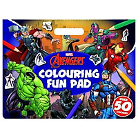 Marvel Avengers: Colouring Fun Pad (Giant Colour Me Pad Marvel)