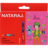 Bút Sáp Jumbo NATARAJ 404494 - 12 Màu