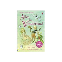 Usborne Young Reading Series Two: Alice in Wonderland + CD