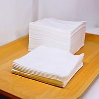 200 Tờ Khăn Cotton Đa Năng - Khăn Vải Khô Mềm Mịn Lau Mặt Chuyên Dùng Cho Spa
