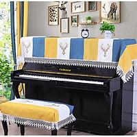 Khăn phủ đàn piano phong cách Châu Âu cổ điển sang trọng