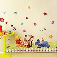Decal dán tường Pooh Hổ vui vẻ - SS113