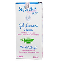 Gel tắm gội dịu nhẹ cho bé Saforelle Bebe 250ml