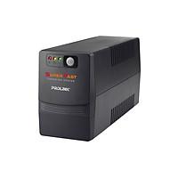 Bộ nguồn cấp điện liên tục UPS PROLiNK 850VA Line tích hợp bộ AVR, sạc siêu nhanh - Hàng chính hãng