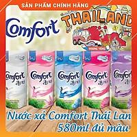 Nước xả vải Comfort Thái Lan 580ml--Nước xả quần áo thơm cả ngày hương hoa