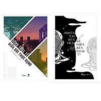 Combo 2 cuốn giúp bạn có cái nhìn khác với cuộc sống: Thiên Tài Bên Trái, Kẻ Điên Bên Phải + Sống Thực Tế Giữa Đời Thực Dụng