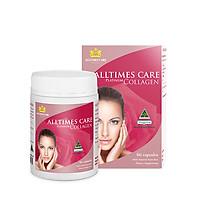 Thực phẩm bảo sức khỏe Collagen Alltimes Care (Hộp 60 viên) + Tặng 1 Bình thủy tinh