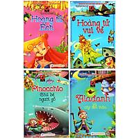 Combo Vườn Cổ Tích về Pinocchio Chú Bé Người Gỗ, Hoàng Tử Vui Vẻ, Hoàng Tử Ếch, Alađanh Và Cây Đèn Thần