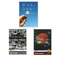 Combo 3 cuốn TedBooks: Wabi Sabi Thương Những Điều Không Hoàn Hảo + Cà Phê Trên Sao Hỏa + Tương Lai Của Kiến Trúc