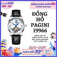 Đồng Hồ Nam Dây Da Chống Nước PAGINI 19966 Cao Cấp – Bảo Hành 12 Tháng
