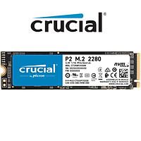 Ổ Cứng gắn trong SSD Crucial P2 M2 2280 3D NAND PCIe NVMe - Hàng Nhập Khẩu