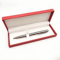 Bút kim loại xoay vỏ trắng (HV007)