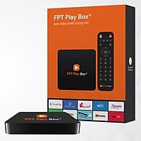 FPT Play Box + 2019 kèm Remote Voice Search tặng Tai Nghe có dây Remax Proda PD-E200 - Hàng Chính Hãng