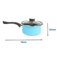 Quánh chống dính đáy từ 1 tay cầm The Best Cook Ware size 18cm dùng được tất cả các loại bếp (Induction)
