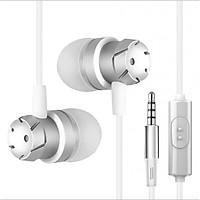 Tai nghe nhét tai cao cấp eData Super Bass dây chống rối cho iPhone/iPad/Samsung 2018 - Hàng chính hãng