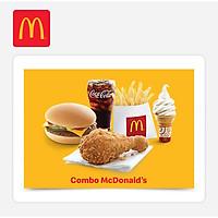 McDonald's - Combo McDonald's (Ecode 5-YR Combo)