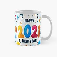 Ly cốc sứ Happy new year 2021