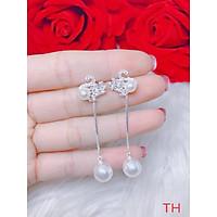 Hoa tai thiên nga treo trai bạc cho nữ hàng hót