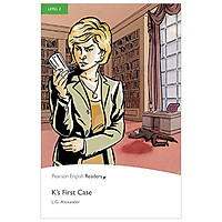 Level 3: K's First Case Book and MP3 Pack (Pearson English Graded Readers)
